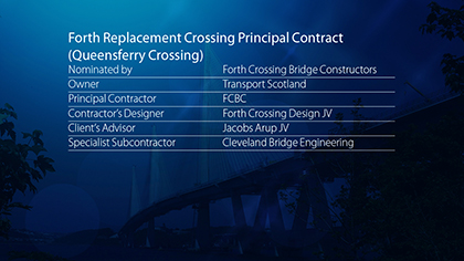 Forth Replacement Crossing Principal Contract, Rosyth