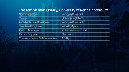 The Templeman Library, University of Kent, Canterbury